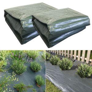 idmarket b che de paillage 1 05 x 10 m lot x2 pas cher achat vente drainage rueducommerce. Black Bedroom Furniture Sets. Home Design Ideas