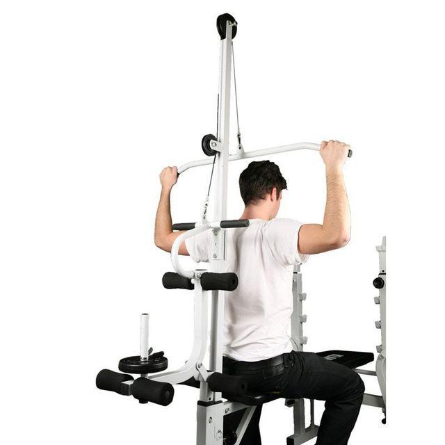 KLARFIT - Banc de Musculation Dos Curler Jambes et Bras