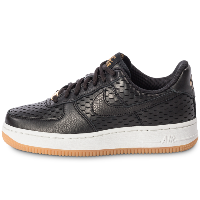 Nike Air Force 1 ´07 PRM Black Gum Chaussures Baskets