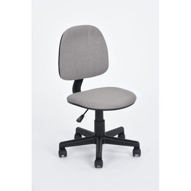 carrefour chaise de bureau hd gris pas cher achat vente chaises rueducommerce. Black Bedroom Furniture Sets. Home Design Ideas