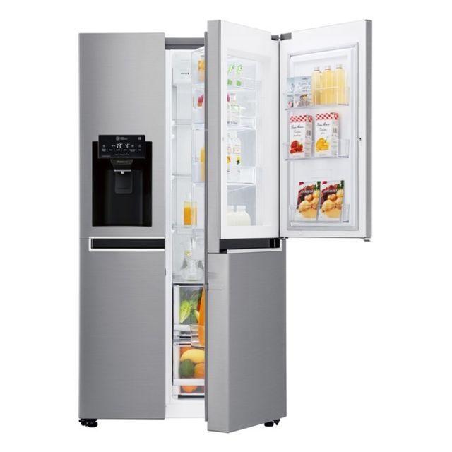LG Réfrigérateur Américain - GSS6691PS - Inox platine