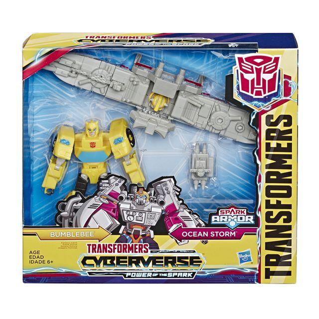Transformers Bumblebee Cyberverse Adventures Robot action Ultra Bumblebee 17cm Jouet Transformable 2 en 1
