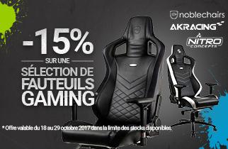 fauteuils gaming