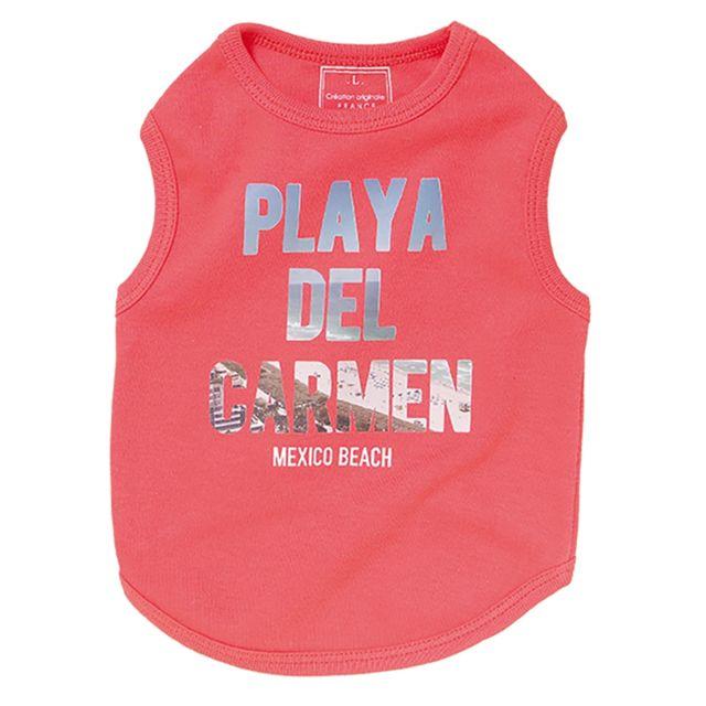 Les Animaux De La Fee T-shirt Playa Rose Taille L