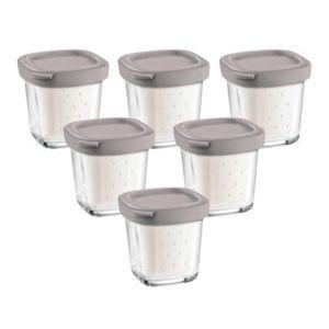 Seb 6 pots yaourt avec egouttoir pour yaourtiere pas - Yaourtiere seb 6 pots ...