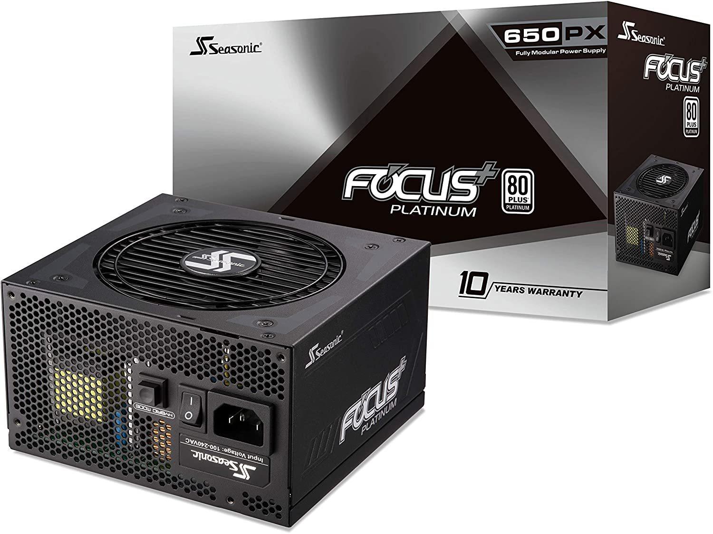 PPRIME FOCUS - 650 W - 80 Plus Platinum