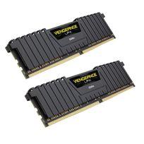 Vengeance LPX 16 Go 2 x 8 Go, DDR4 2400 Mhz C16 1.2V pour AMD Ryzen and Intel 200 - Black