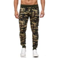 Monsieurmode - Jogging homme camouflage Jogging 7356 vert militaire