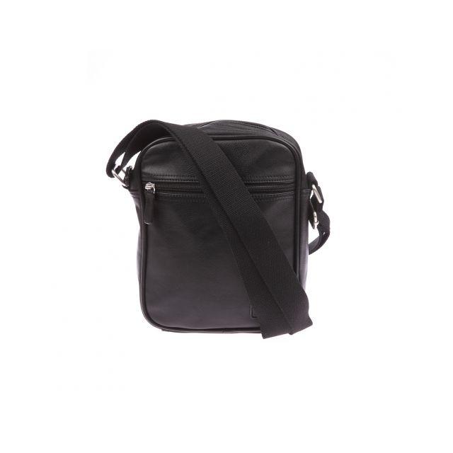 fd571b798c Levi's - Sacoche à bandoulière en simili cuir noir - pas cher Achat / Vente  Besaces - RueDuCommerce