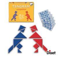 Diset - Casse-tête et figures Tangram Compétition