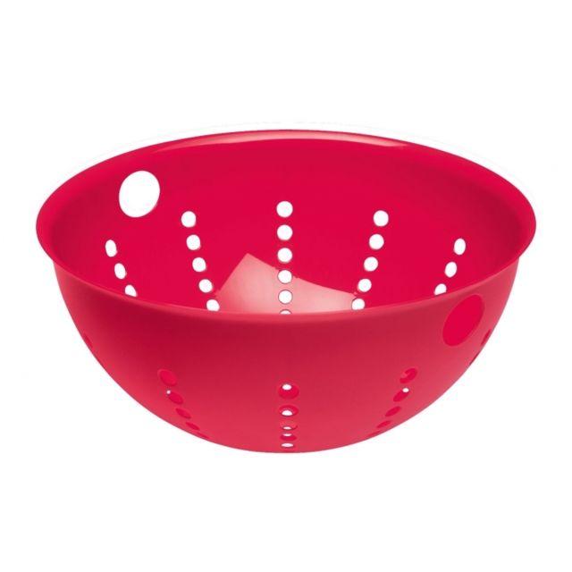 Koziol Passoire Palsby rouge framboise - Diamètre 28 cm