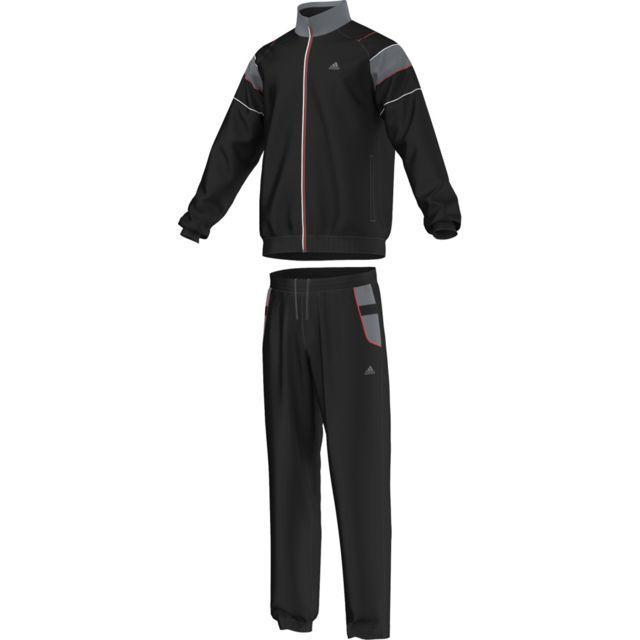 e420f686779 Adidas performance - Survêtement Training Suit Value Oc - pas cher Achat   Vente  Survêtement homme - RueDuCommerce