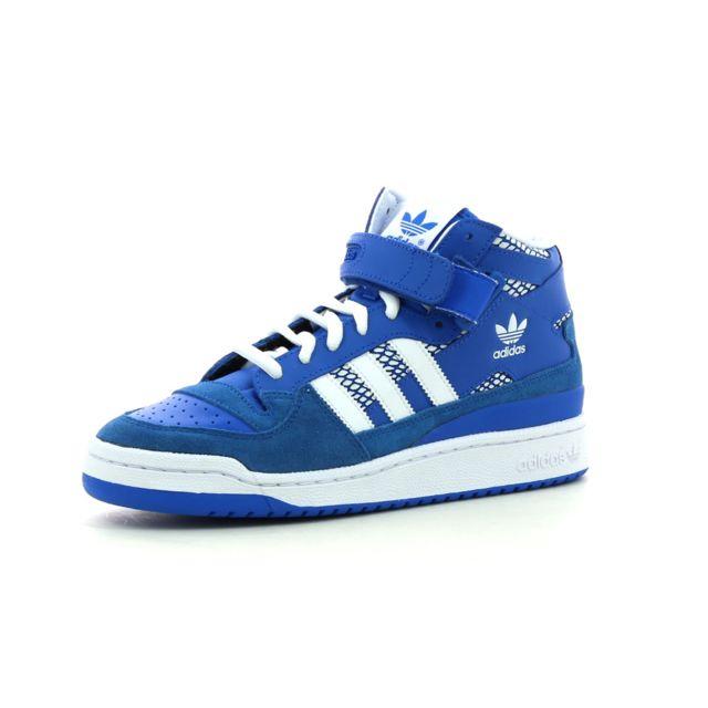 buy popular db9aa 3825f Adidas originals - Baskets montantes Forum Mid Rs - pas cher Achat  Vente  Baskets homme - RueDuCommerce