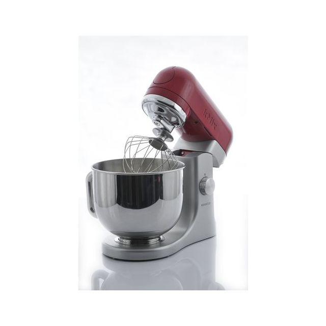 kenwood robot de cuisine inox/rouge kmix kmx51 - achat robot