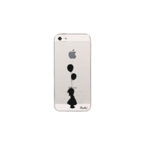 PEACH - Coque Transparente Girl pour iPhone 5/5S/SE