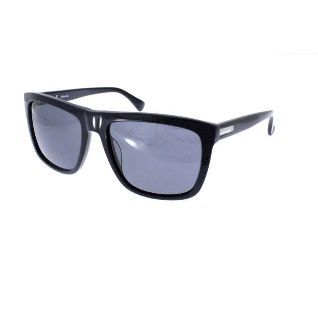 ab6fb7c179b408 Calvin Klein - Ck 4255SRX 001 - Lunettes de soleil mixte Noir - pas cher  Achat   Vente Lunettes Tendance - RueDuCommerce