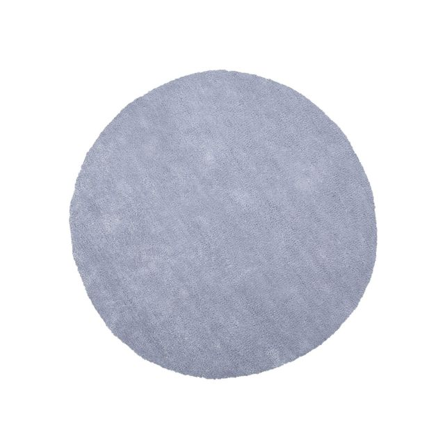 BELIANI Tapis rond en tissu gris clair DEMRE - gris clair