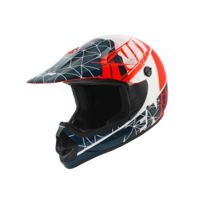 fc50127bc23cc9 No End - Casque Cross Enfant Origami - Patriot Bleu   Blanc   Rouge - Taille