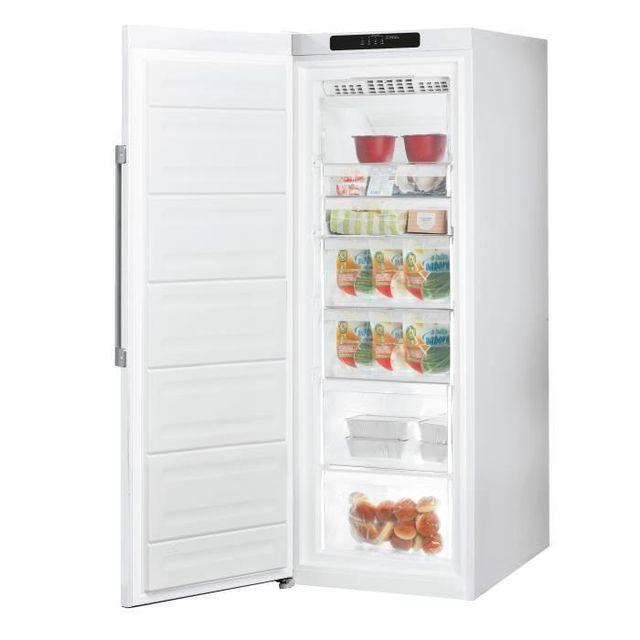 Hotpoint uh6 1t w cong lateur armoire a 232l achat - Congelateur armoire carrefour ...