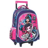 Monster High - Cartable à roulettes 43 Cm Trolley
