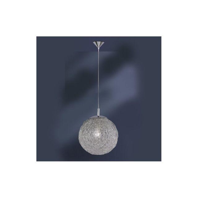 millumine grand lustre boule design 50 cm xl pas cher achat vente suspensions lustres. Black Bedroom Furniture Sets. Home Design Ideas