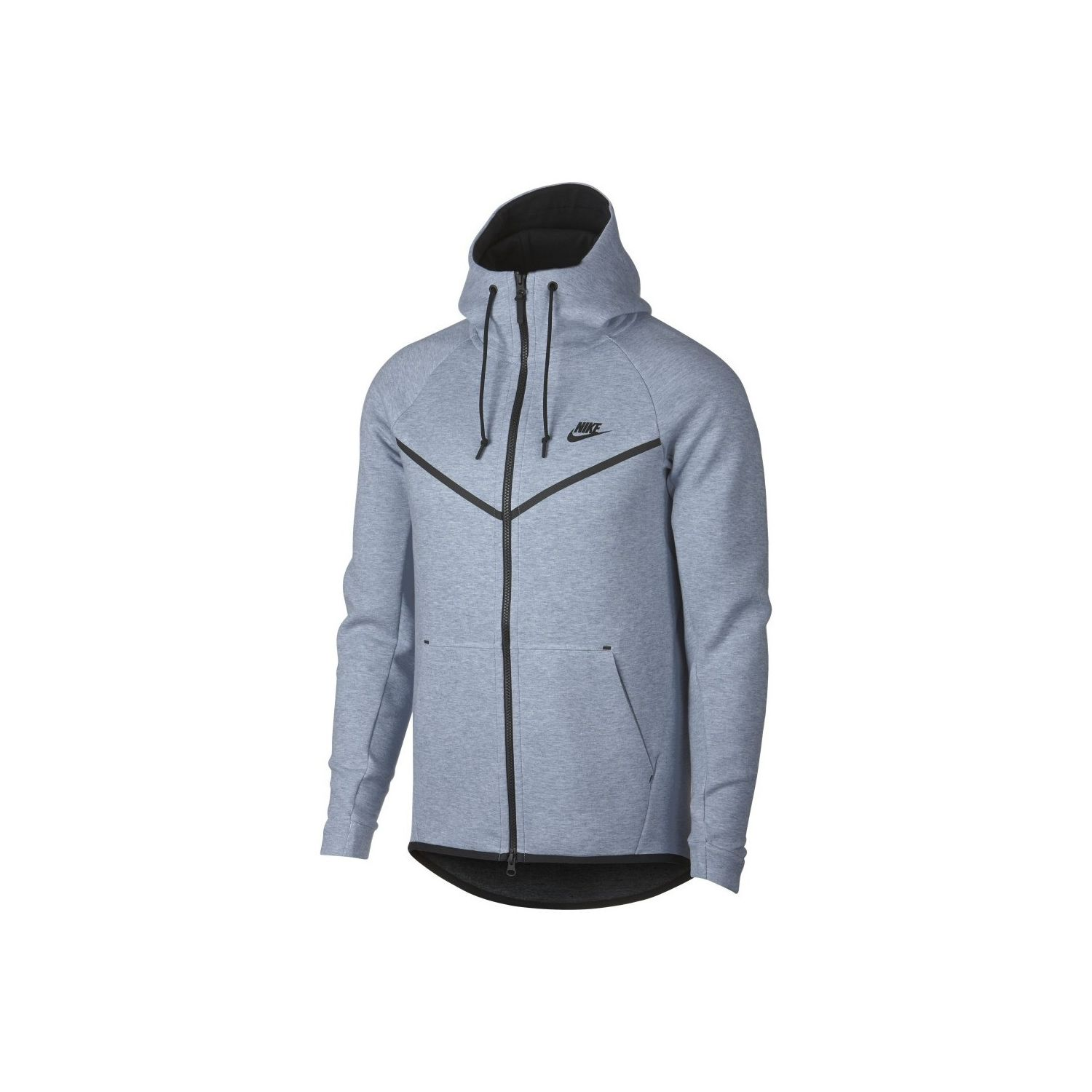 7b485944c18c4 NIKE- Sweat à capuche Sportswear Tech Fleece Windrunner - 805144-023 - Gris
