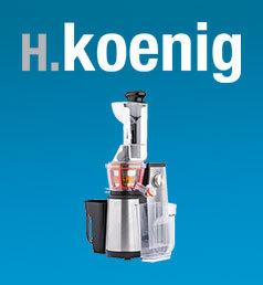HKOENIG Le nouvel extracteur de jus Vitalice GSX22 de H.Koenig, vous permet d'adapter la texture de vos jus selon vos envies