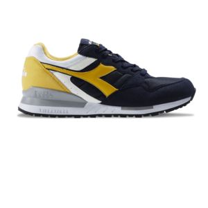 Chaussures Intrepid Nyl Blue Night/Yellow h17 - Diadora Mina3jS