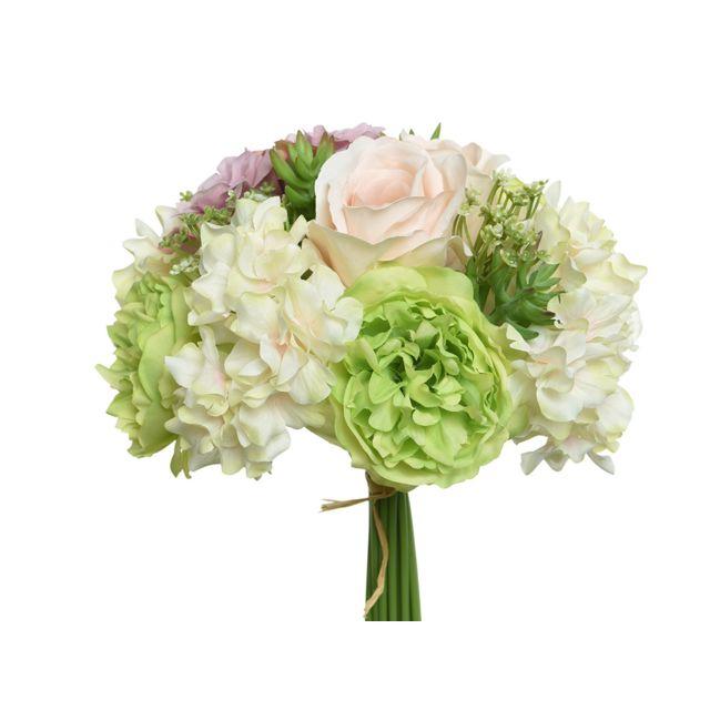 Jja Bouquet Fleurs Artificielles Nos Envies Deco Pas Cher
