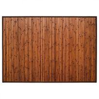 Tapis En Bambou Latte 120x170cm Chocolat