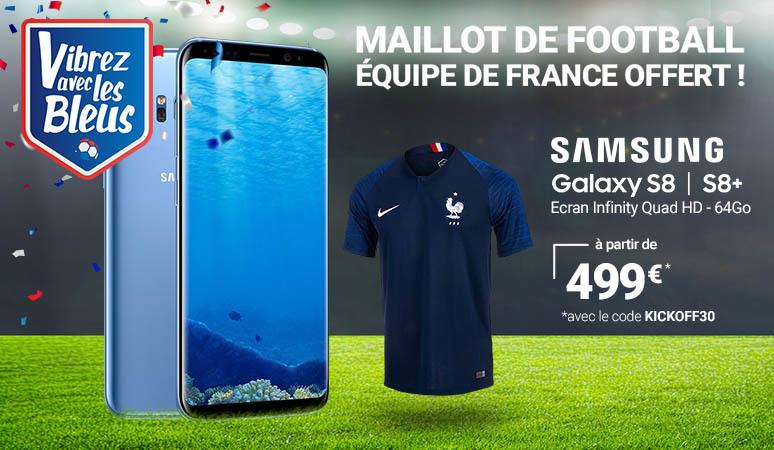 Maillot de Football Equipe de France offert !