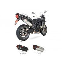 Scorpion - Silencieux homologue serket inox tiger 800 - 76106839