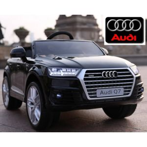 audi voiture lectrique enfant nouvelle q7 roues gomme. Black Bedroom Furniture Sets. Home Design Ideas