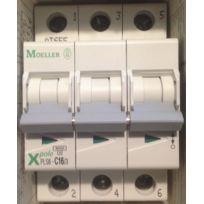 Moeller - Pls6-C16/3-MW - 242949 - Disjoncteur 16A - C - 6kA - 3poles