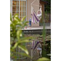 La Siesta - Hamac Chaise Caribena Coloris Violet 1 personne Sans Support