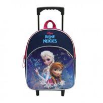 Frozen - sac à dos à roulettes trolley scolaire école enfant fille cartable Reine des neiges Disney