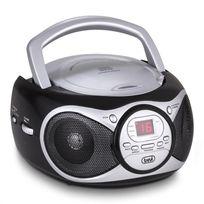 TREVI - CD 512 Lecteur CD MP3 radio FM/AM AUX noir
