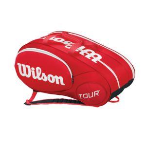 wilson sac de tennis minit tour 6pk bag pas cher achat. Black Bedroom Furniture Sets. Home Design Ideas