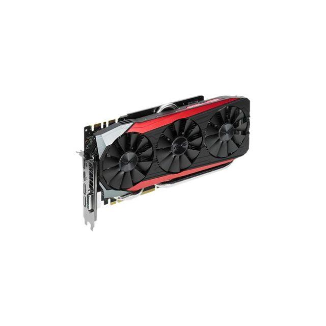 Asus - Strix-gtx980TI-DC3OC-6GD5-GAMING - Grafikkarten - Gf Gtx 980 Ti - 6 Gb Gddr5 - Pci Express 3.0 x16 Dvi, Hdmi, 3 x DisplayPort