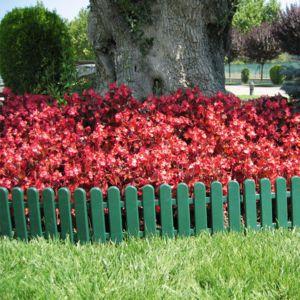 Nortene bordure de jardin verte en pvc 20 x 50 cm 5 for Bordure de jardin en pvc pas cher