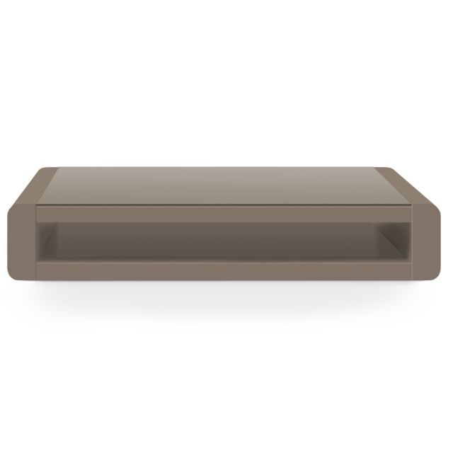 MENZZO Table basse Florida Taupe