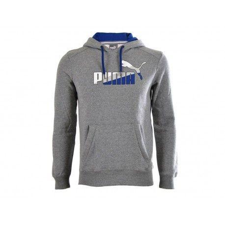 Puma - Fun Graphic Hood Sw Gry - Sweat à capuche Homme - pas cher Achat    Vente Sweat homme - RueDuCommerce a4440acc05f
