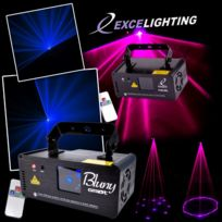 Ghost - Pack 2 Shows Lasers Bleu/Rose Dmx 100 effets Light