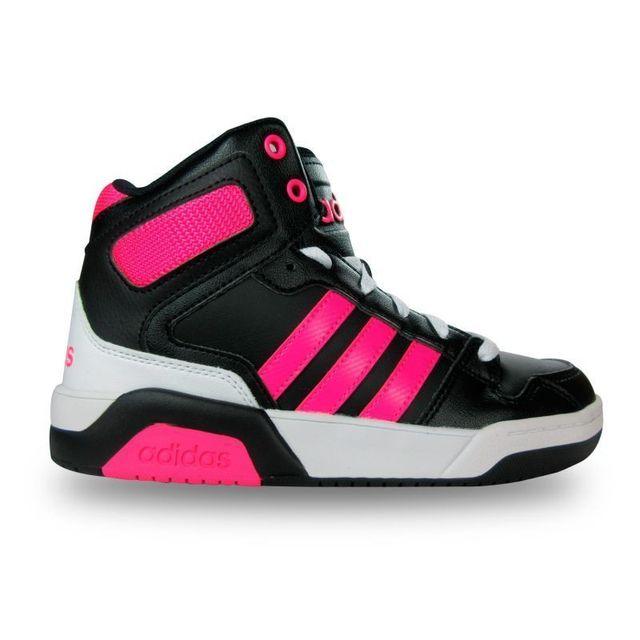 Adidas Baskets montantes enfant fille bb9tis pas cher