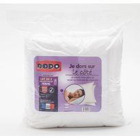 DODO - Lot 2 oreillers fermes BASIC COTON
