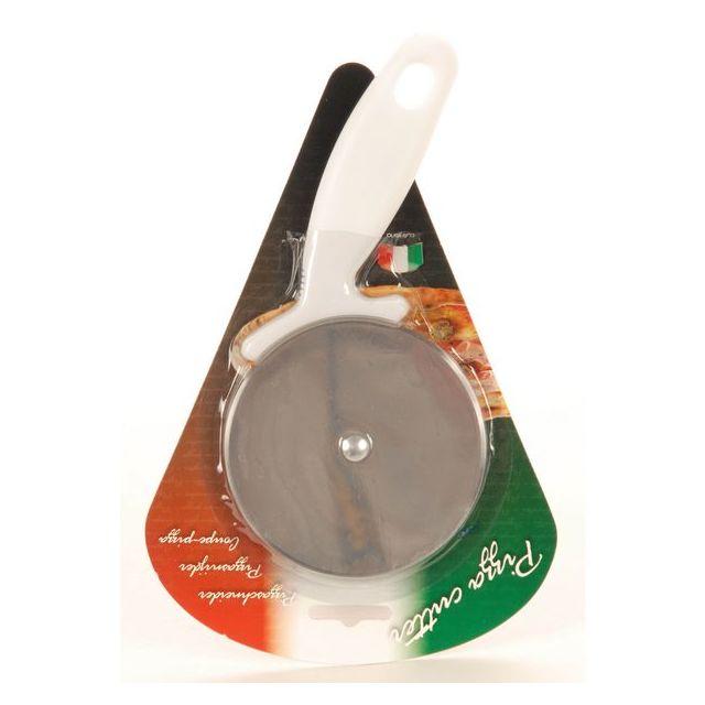 MAISON FUTEE Coupe Pizza avec lame circulaire en acier Inox