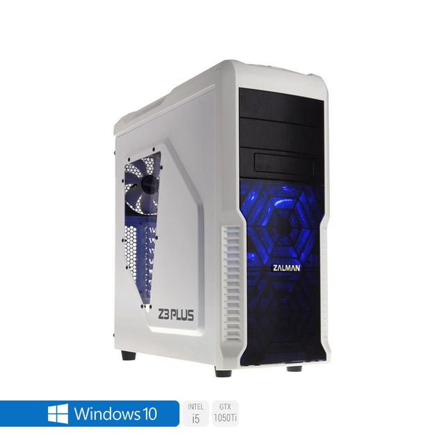 Pc Gamer Advanced Intel i5-7500 4x 3.40Ghz max 3.8Ghz Geforce Gtx 1050Ti 4Go, 8 Go Ram Ddr4 2133Mhz, 250 Go Ssd, 2 To Hdd, Usb 3.0, Wifi, CardReader, Hdmi2.0, Résolution 4K, DirectX 12, Alim 80+. Unité centrale avec Windows 10 small
