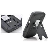 High-Tech Place - SafeGuard Duo - Intercom Video Sans Fil / Detection de Mouvements / 2 Moniteurs 3.5 pouces / Portee 300m / Fonction Photo et Video