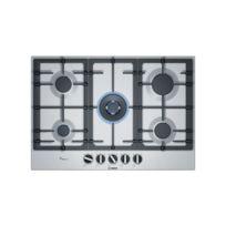 Bosch - Plaque au gaz Pcq7A5B90 75 cm Noir 5 cuisinière