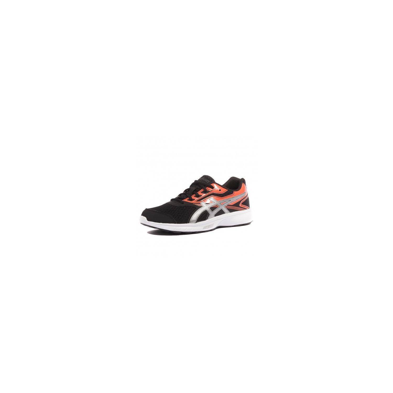 Orange Garçon Gs Cher Stormer Noir Chaussures Pas Running Asics 041BqRw